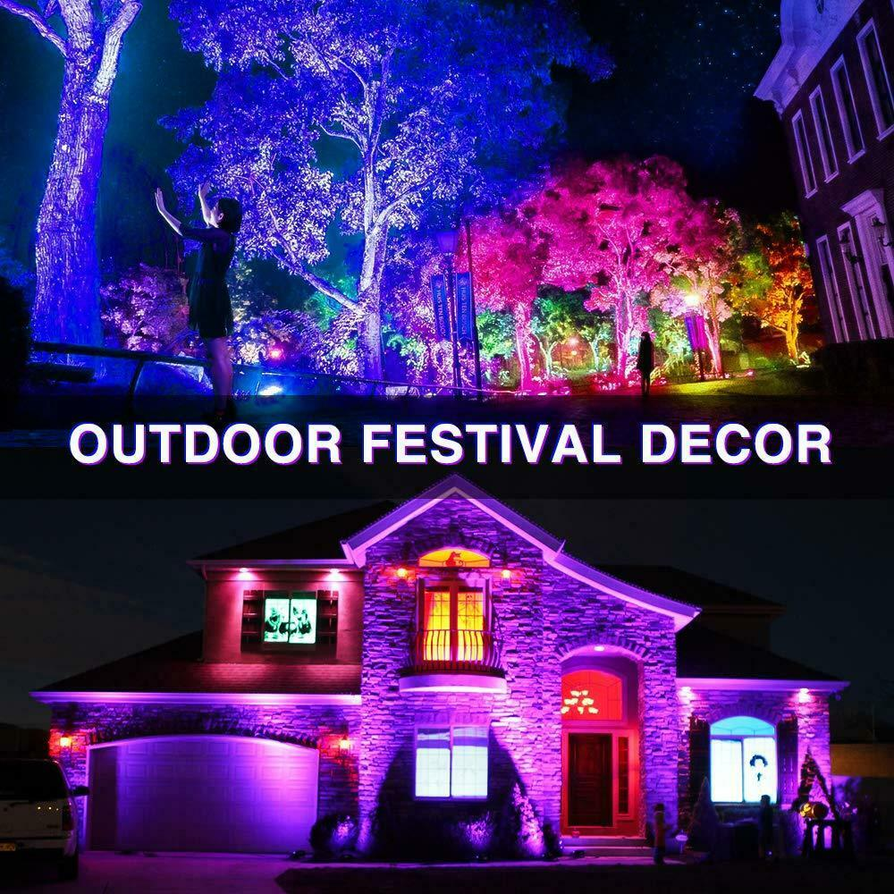 Outdoor Festival Rgbw Lighting